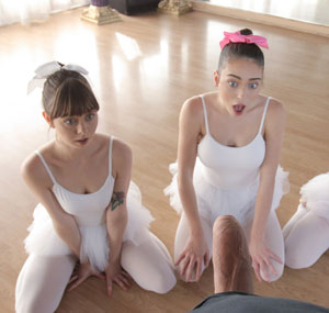 bff ballerinas want to suck a cock