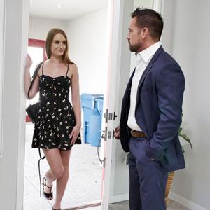 Daisy Stone meeting the boss Johnny Castle