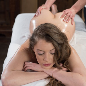 Elena Koshka oily at massage