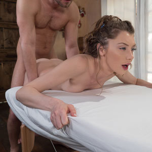 Elena Koshka fucked by masseur