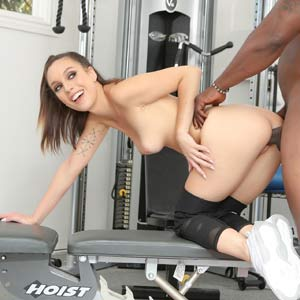 Doggystyle BBC at the gym