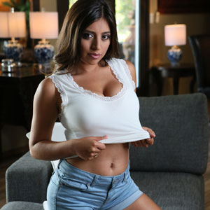 Ella Knox strips down