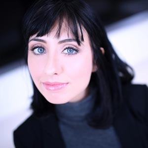 Blue eyed beauty Daphne Dare