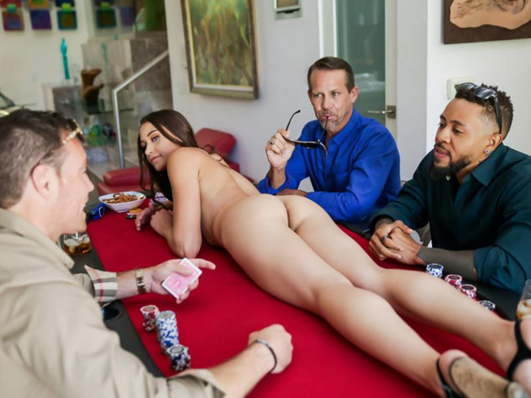 Poker foursome with Avi Love