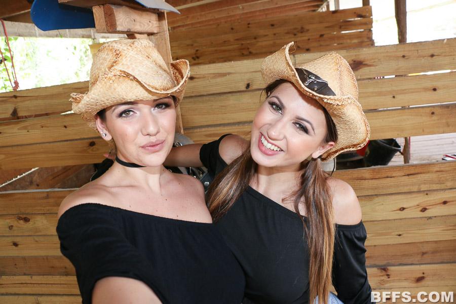 shegg  threesome ranch affair at bffs bffs ranch affair threesome 01