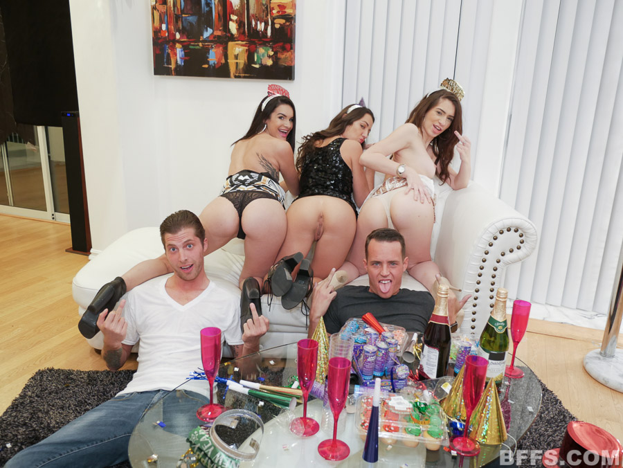 Model Orgy New Years Eve Party